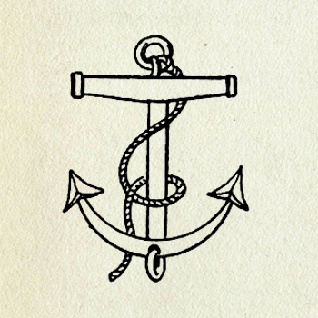 Would you like to be able to Vintage Anchor Drawing