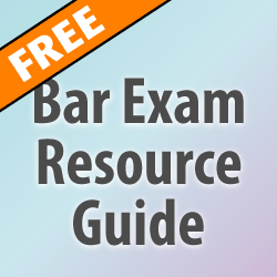 Bar Exam Preparation Resources