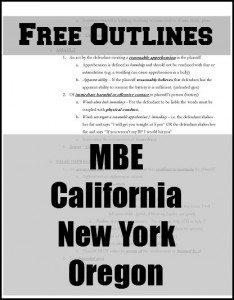 california bar essay prep
