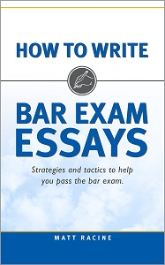 How to Write Bar Exam Essays cover