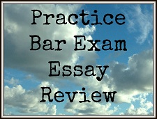 Bar Exam Essay Tutoring