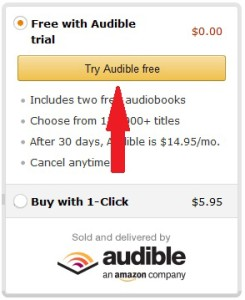 Audible sign up