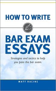 How to Write Bar Exam Essays cover